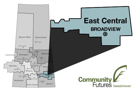 East Central Community Futures Region