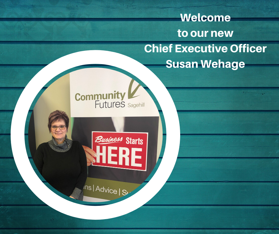 Welcome to our new Chief Excutive Officer Susan Wehage
