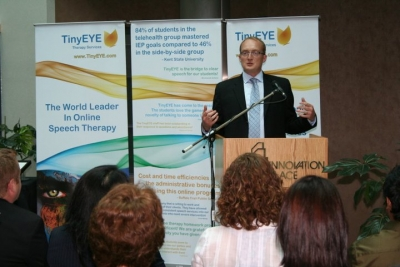 Greg Sutton, CEO, TinyEYE Therapy Services