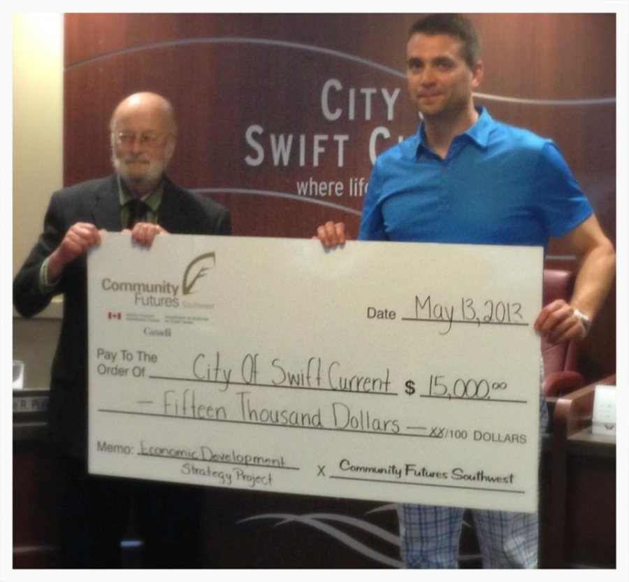 Helping Swift Current grow ...