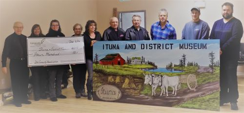 Congratulatins to the Ituna and District Museum Committee
