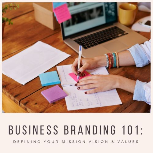 Branding 101: How (And Why) to Develop Your Company's Vision, Mission, and Values