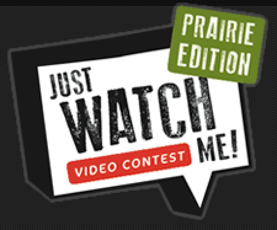 Public votes needed to choose a winner of the Just Watch ME! video contest.