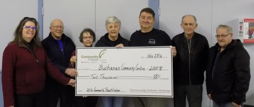 Congratulatins to the Buchanan Commuity Centre