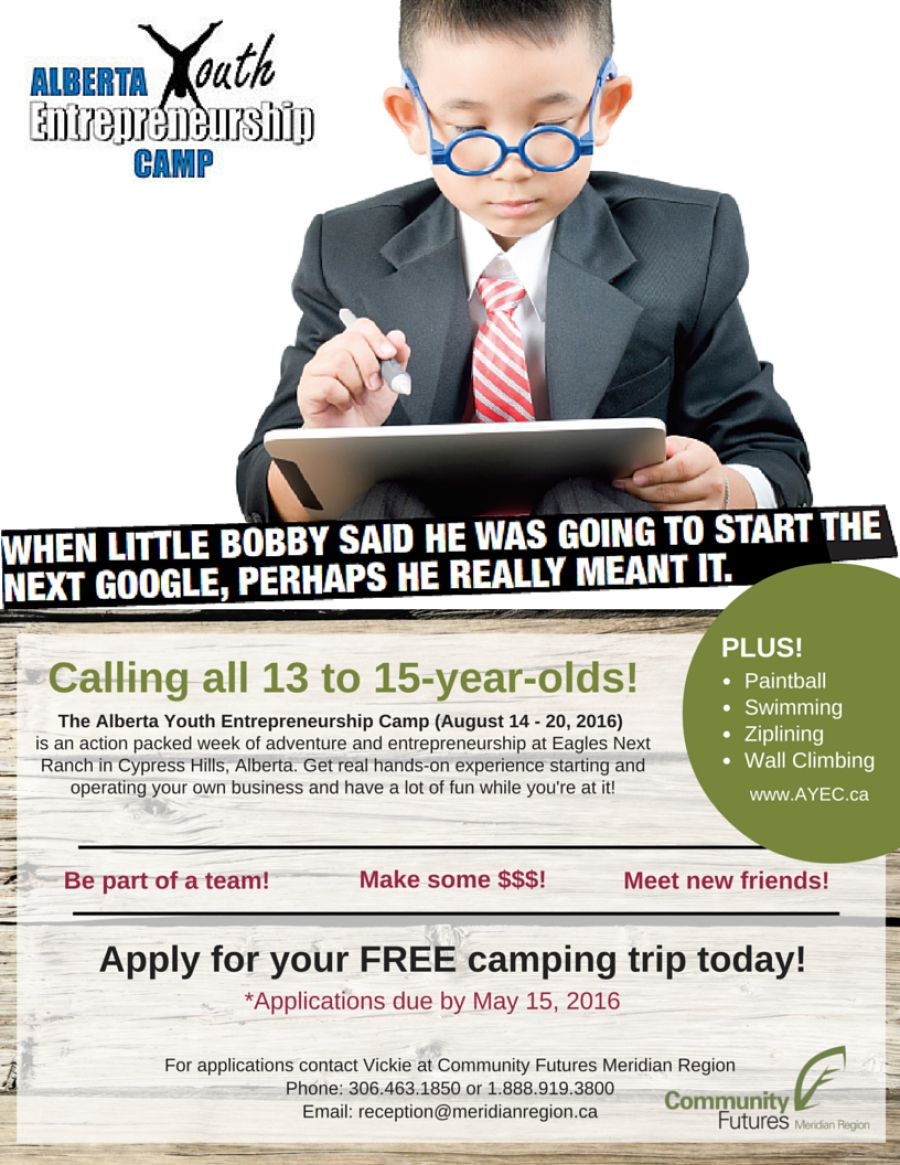 Calling all 13 to 15-year-olds!
