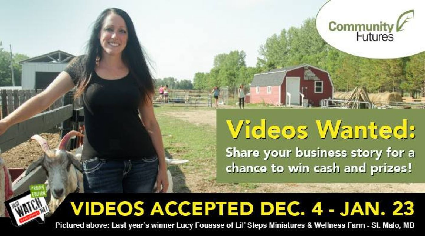Promote your rural business!  Enter the 2017-2018 Just Watch ME! video contest for a chance to win up to $1,000 in cash and business prizes!