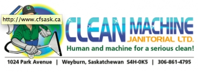 Clean Machine Janitorial: Human and machine for a serious clean!