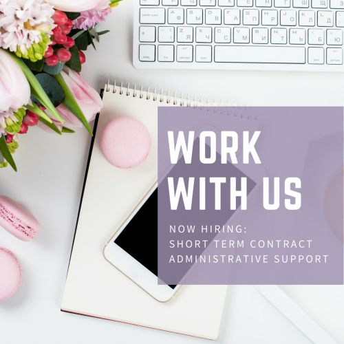 Work With Us - Now Hiring