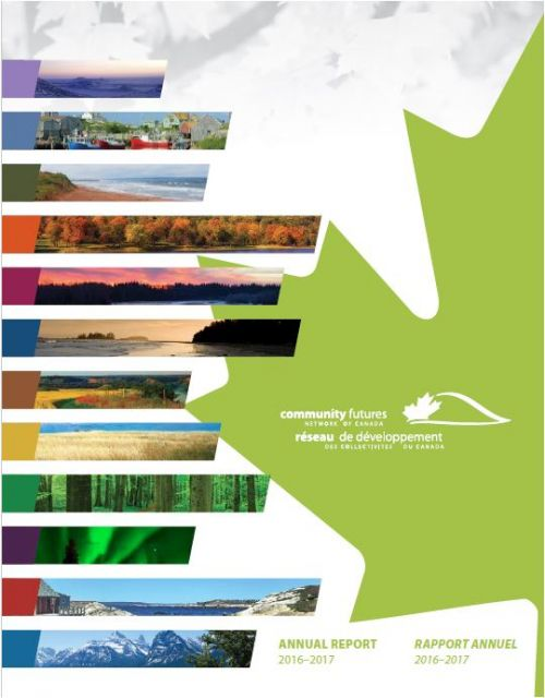 Community Futures Network of Canada Annual Report Features Saskatchewan Success Stories Page 12